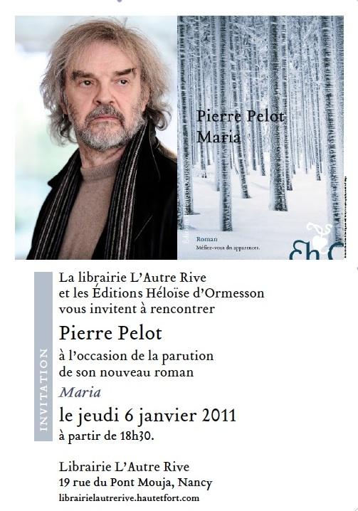 Lancement Pierre Pelot