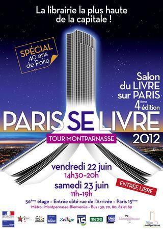 Affiche de PARIS SE LIVRE