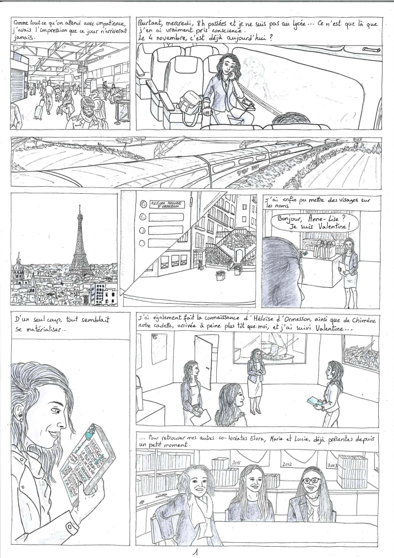 Pages de BD Anne-Lise Lafranche-5